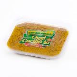Patè di funghi in olio extra vergine di oliva, confezionato in vaschette da 250g.