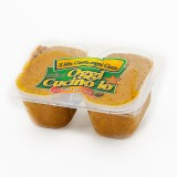 Patè di funghi in olio extra vergine di oliva, confezionato in vaschette da 500g.