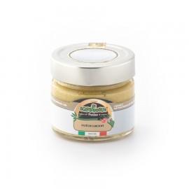 Paté di carciofi confezionato in vaso di vetro linea PREMIUM peso totale 160g