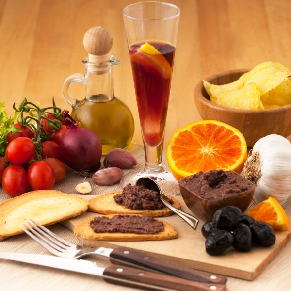 Paté di olive nere confezionato in vaso di vetro linea PREMIUM peso totale 160g
