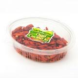 Peperoncini secchi piccanti in confezione da 50g.