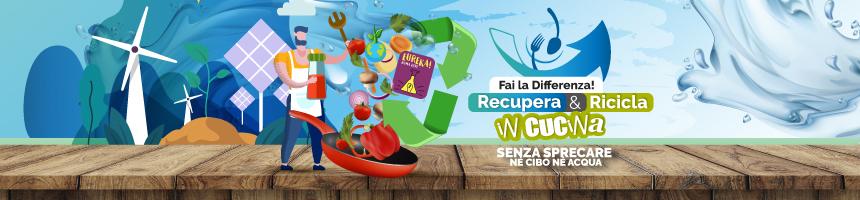 SquisiContest - Fai la differenza! Recupera e ricicla in cucina senza sprecare né cibo né acqua