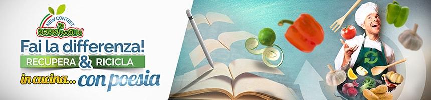 SquisiContest - Fai la differenza! Recupera e ricicla in cucina... con Poesia!